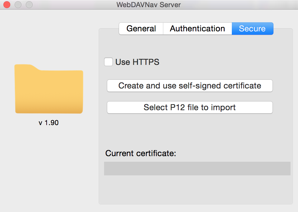 Create and use self-signed certificate