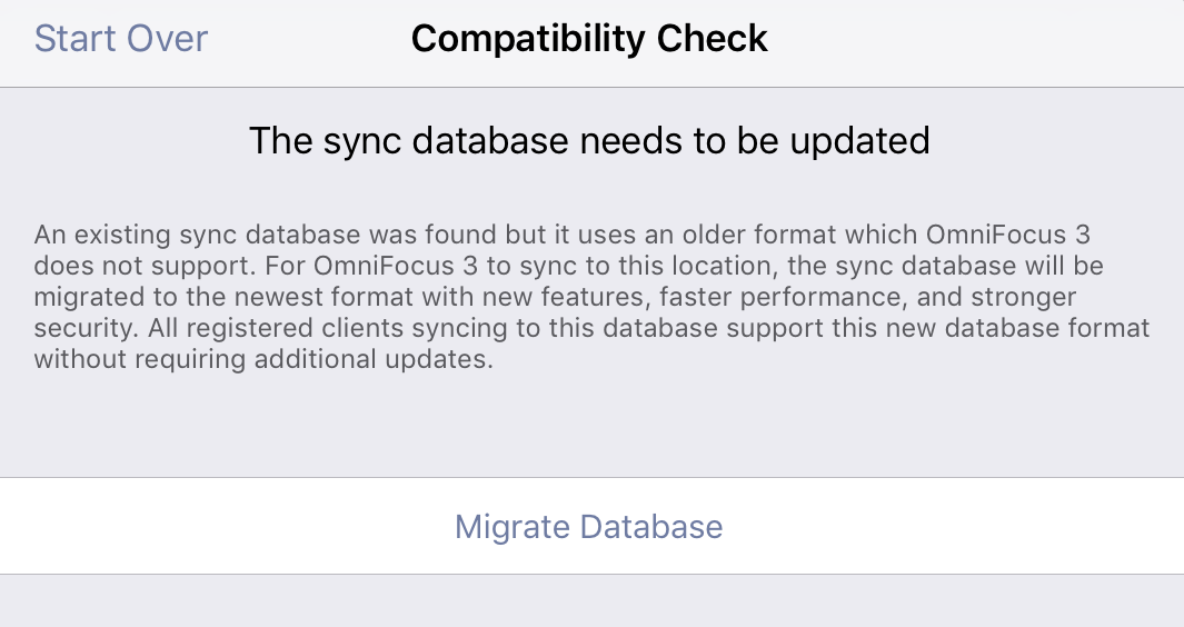 OmniFocus Database Migration Prompt