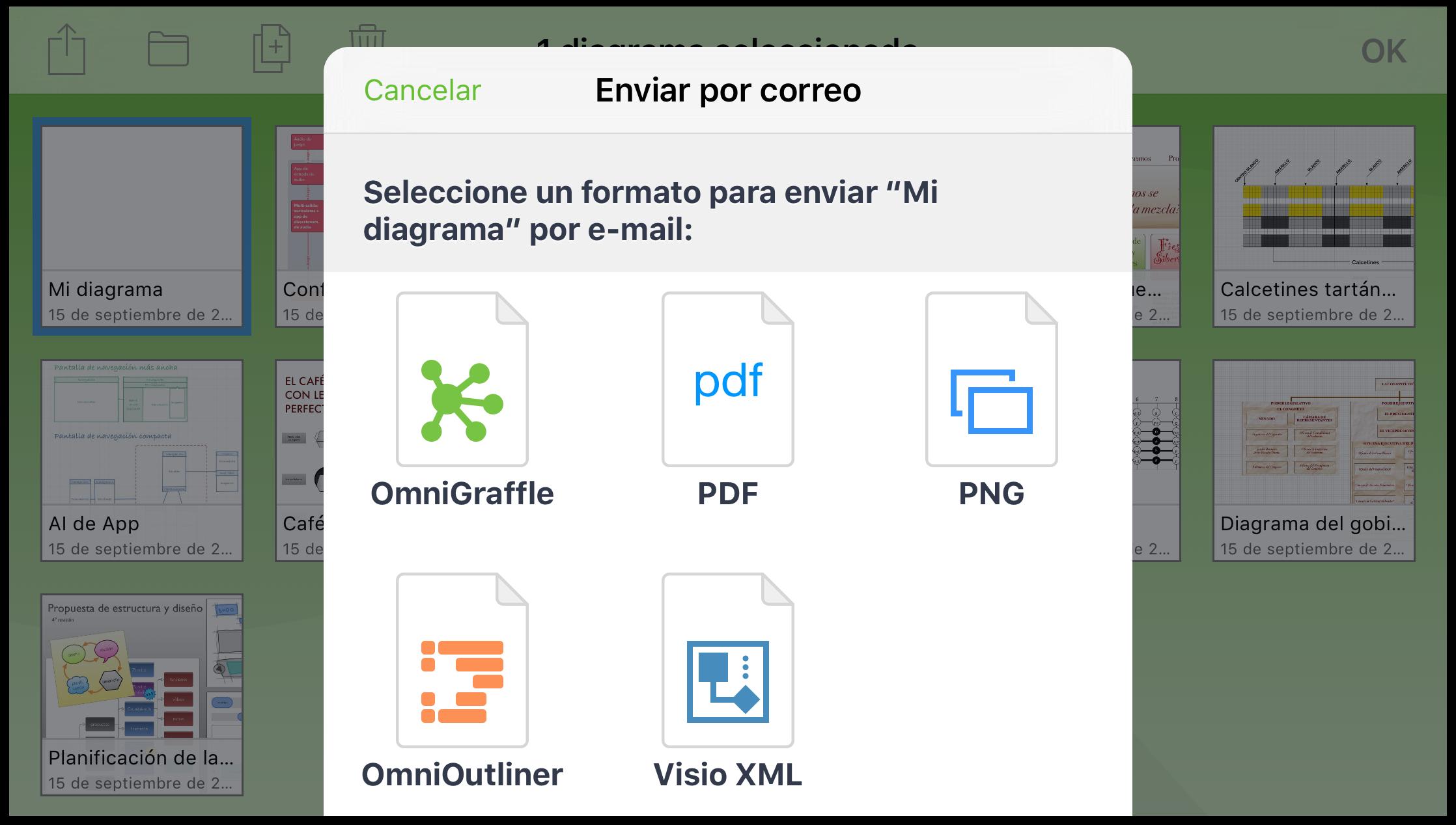 Manual del usuario de OmniGraffle 2.2 para iOS — Gestión de ...