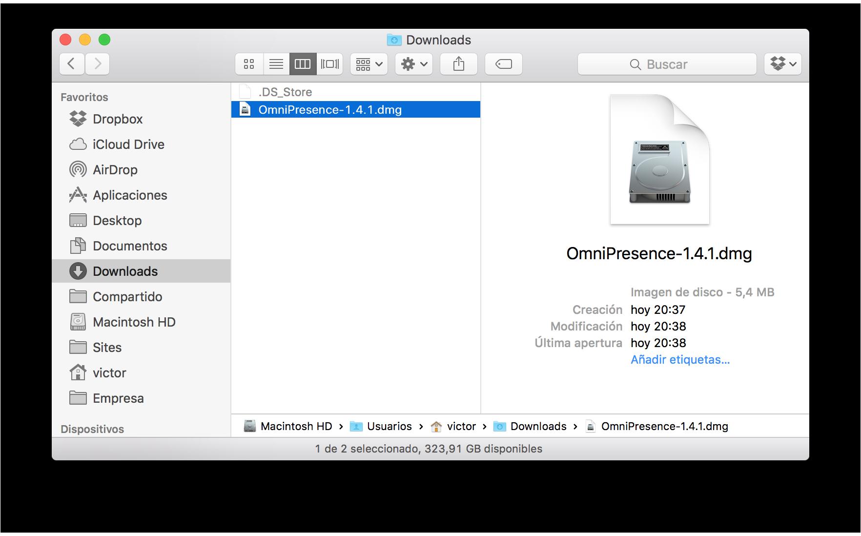 Manual del usuario de OmniOutliner 4.5.3 para Mac -- Sincronización ...