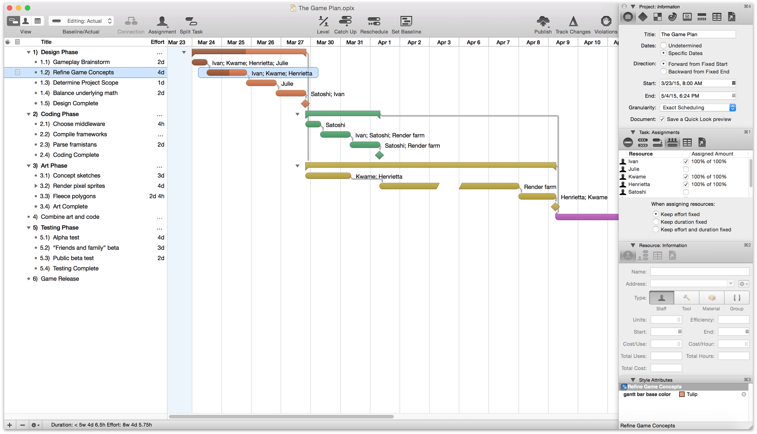 Omniplan 2 for mac user manual introduction omniplan provides features like gantt charts summaries milestones and critical path highlighting to help you stay on top of all your activities ccuart Choice Image