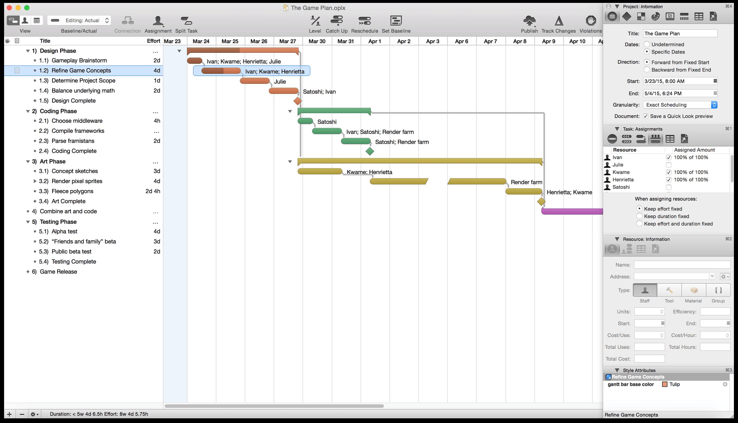 Omniplan 2 For Mac User Manual Introduction