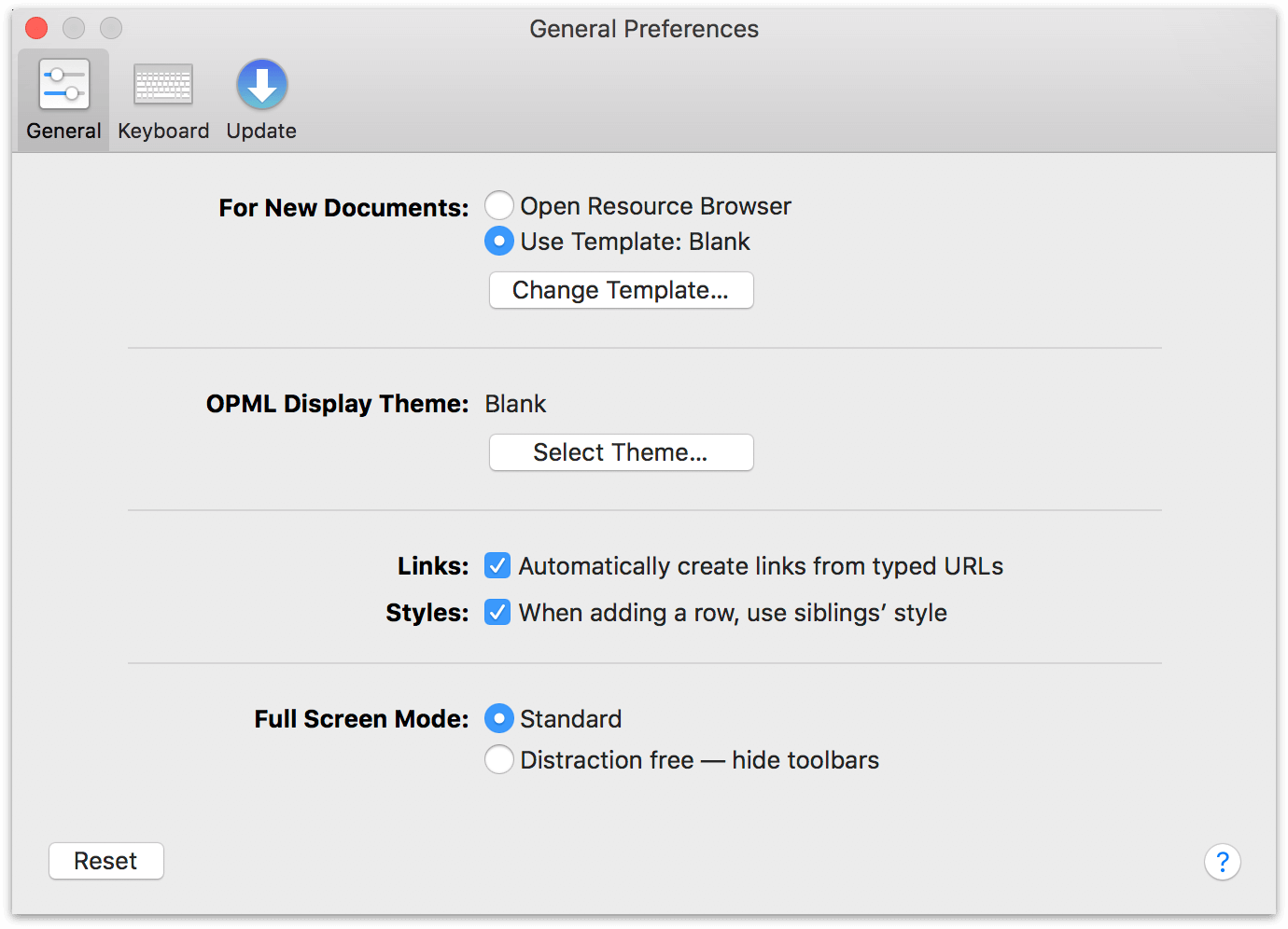 omnioutliner 5 essentials reference manual for macos omnioutliner