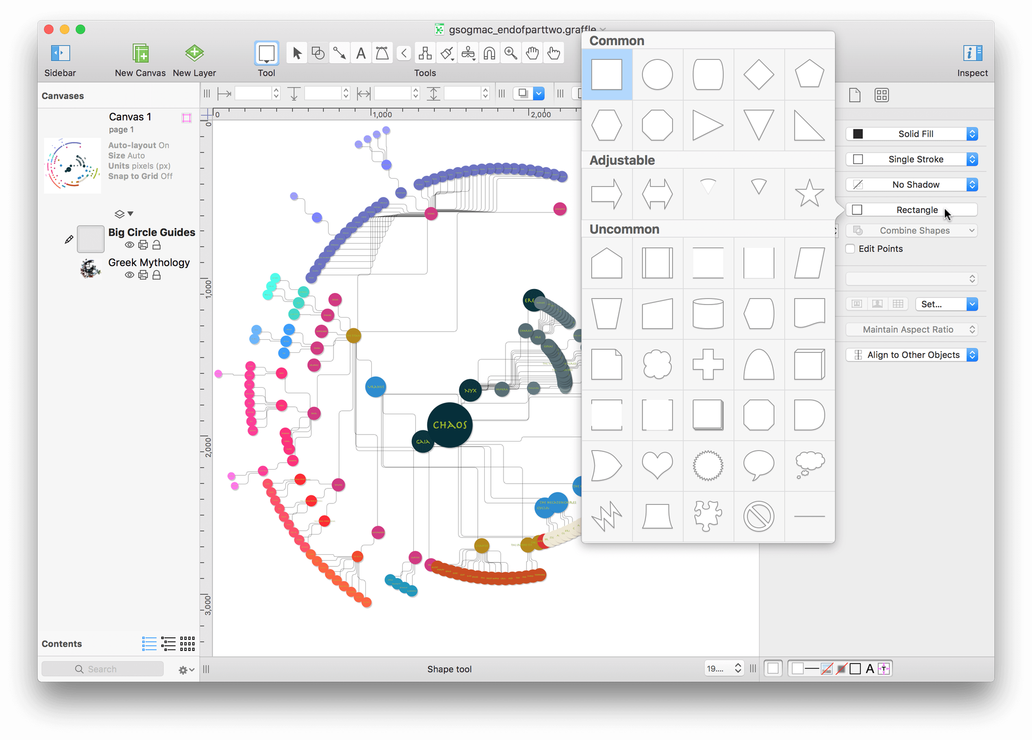 Getting Started With OmniGraffle - Omnigraffle us map