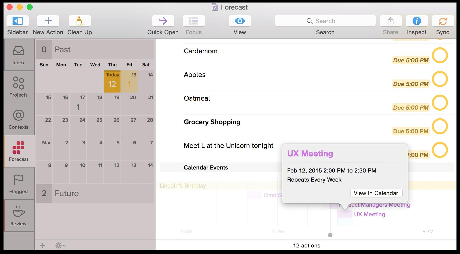how to add event in calendar in mac