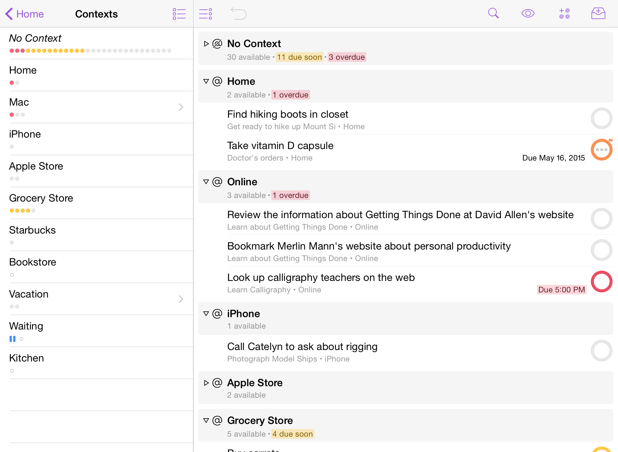 omnifocus 2 for ios user manual the omni group
