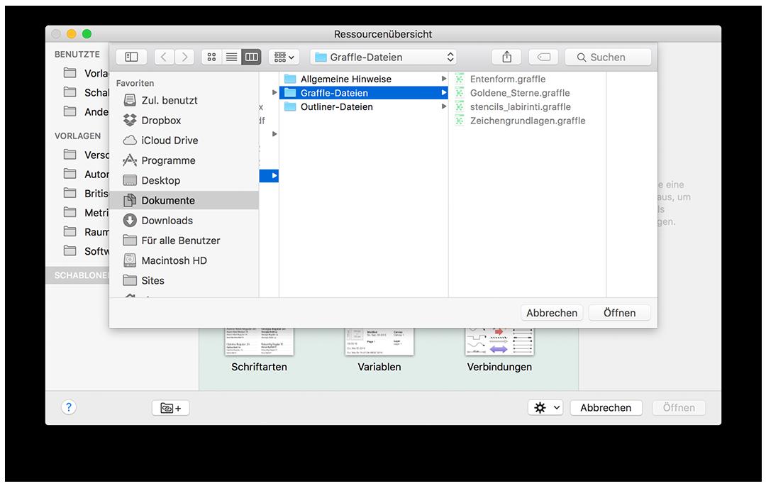 OmniGraffle 6.3 für Mac