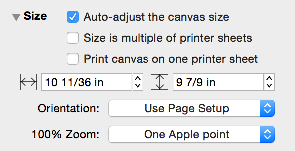 how to change illustrator canvas size
