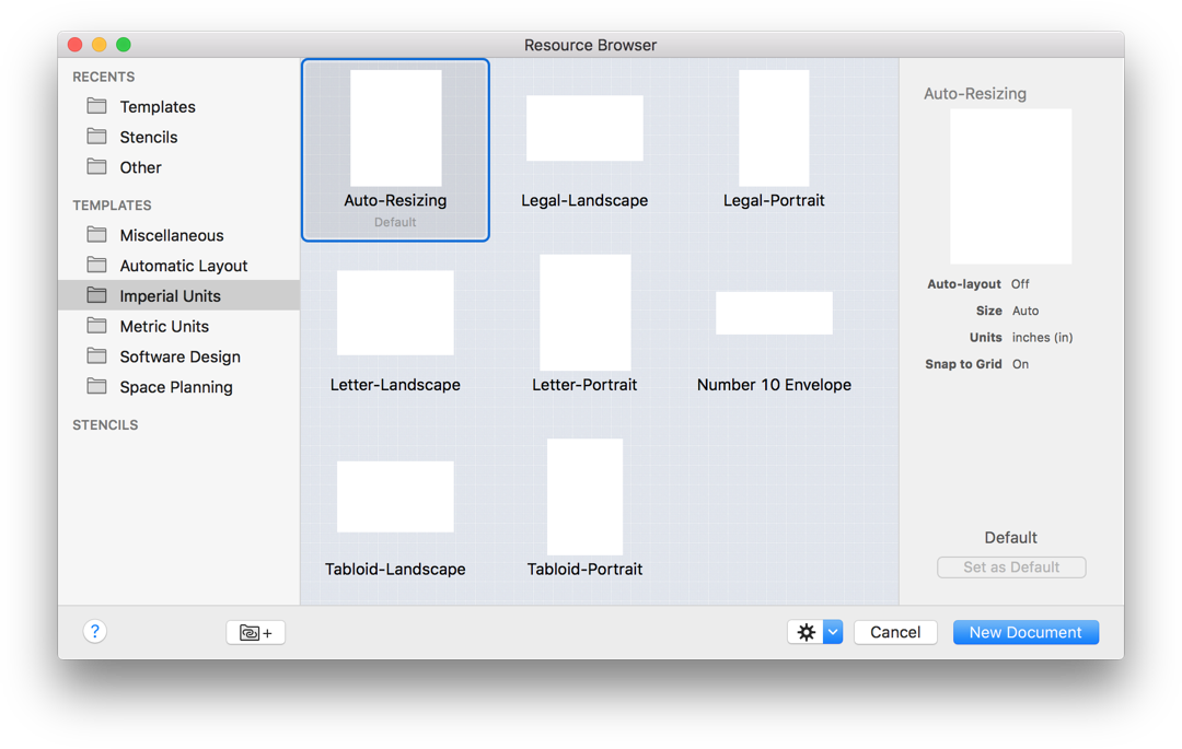 Omnigraffle 6 3 For Mac User Manual Defining And Using The Canvas