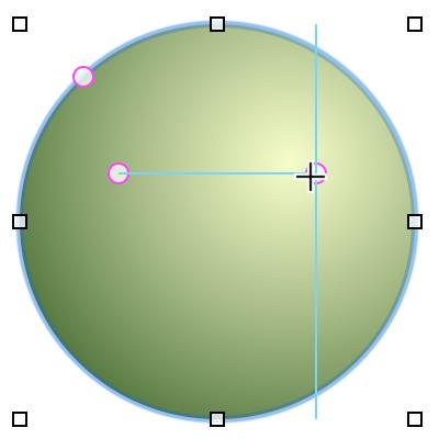 添加磁化物,然后使用智能参考线对齐它们的位置