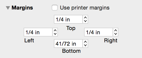 The Margins Inspector