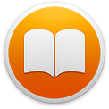 The iBooks application icon