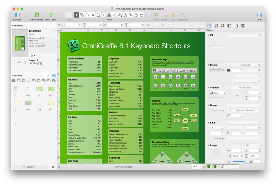 OmniGraffle For Mac User Manual The Omni Group - Omnigraffle us map