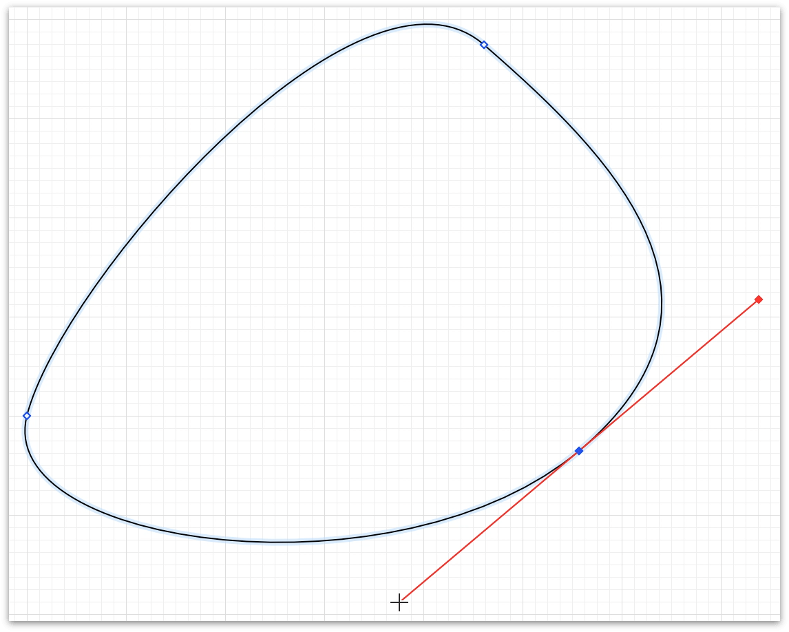Drawing a Bezier-based blob with the Pen Tool