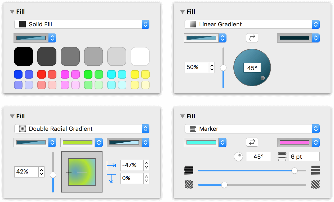 OmniGraffle 7 0 for Mac User Manual - Working With the