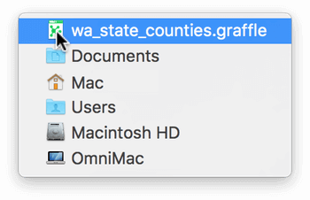 The document icon in the toolbar