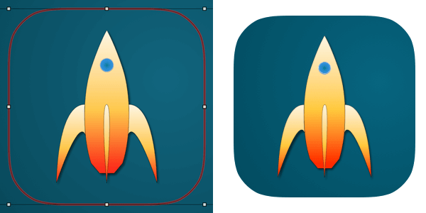 Using artboards to export an app icon