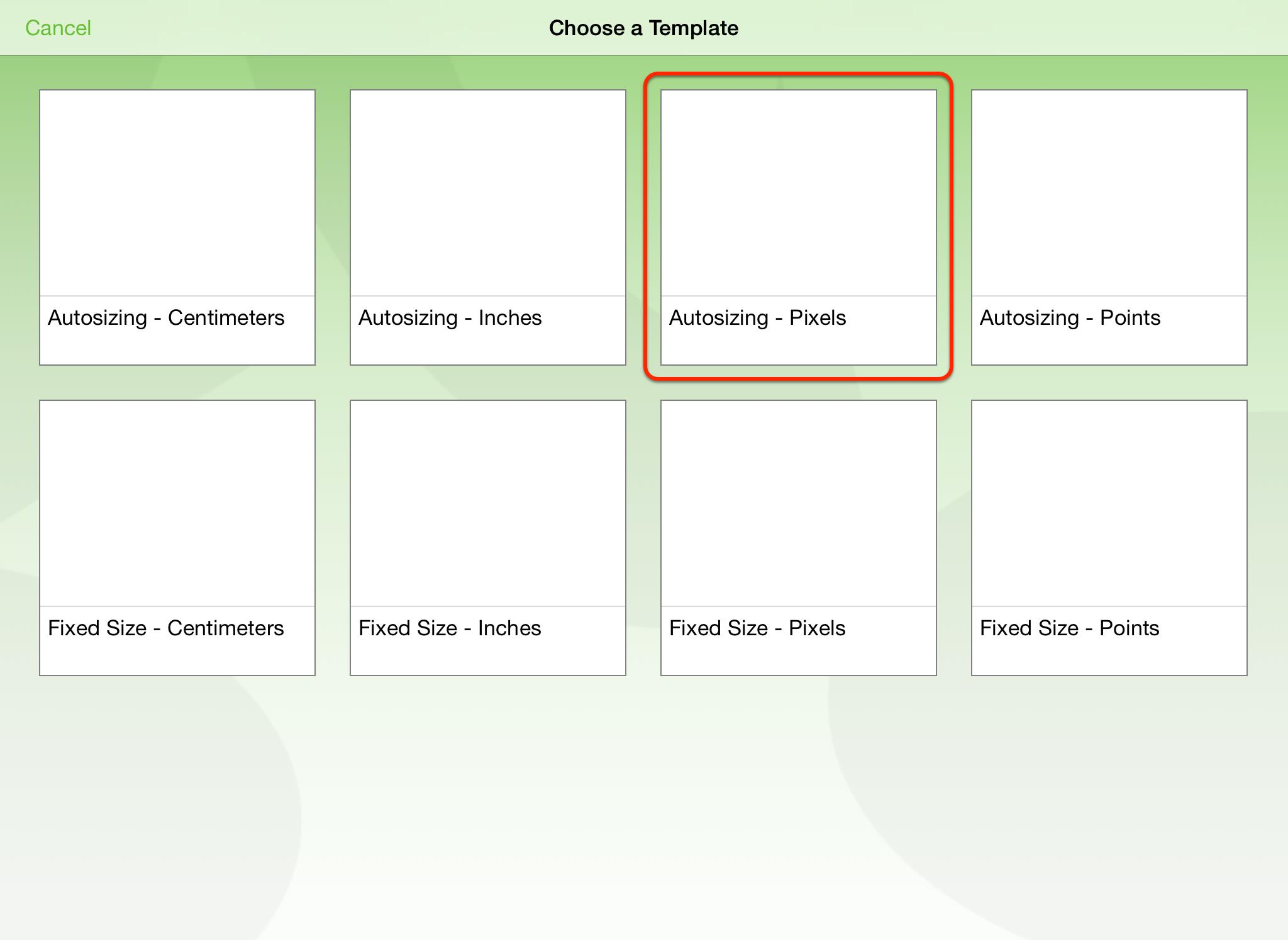 OmniGraffle 2 for iPad User Manual