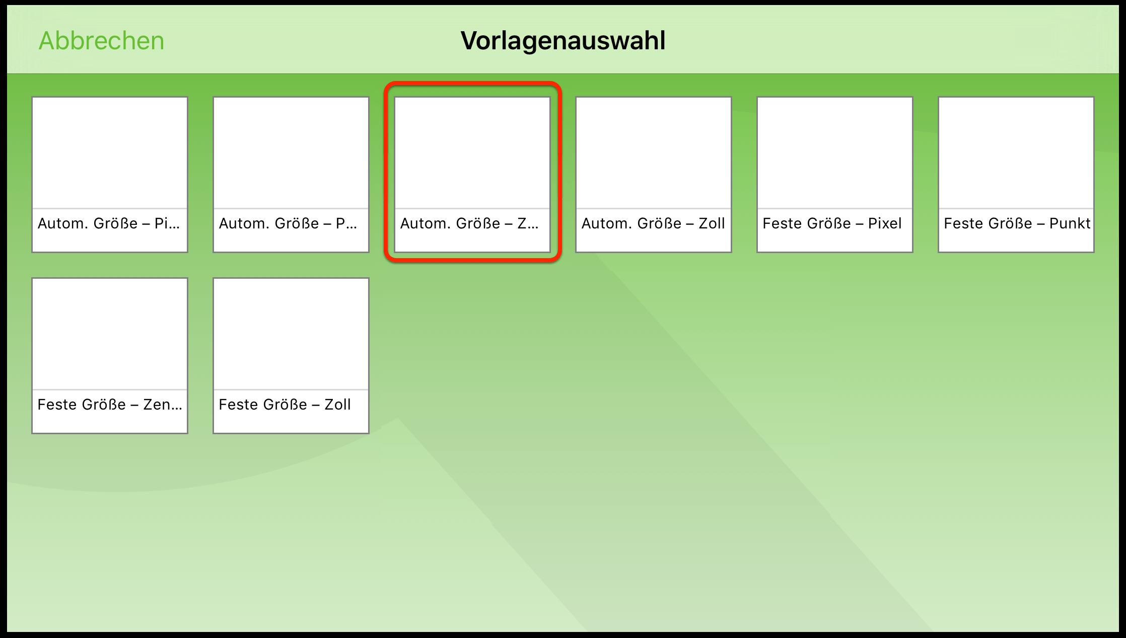 OmniGraffle 2.2 für iOS-Benutzerhandbuch – Zeichengrundlagen
