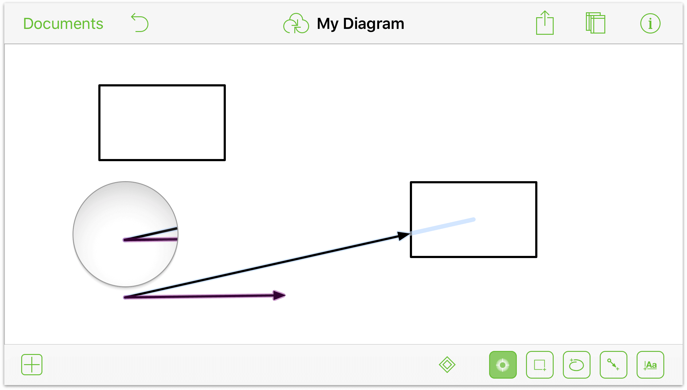 Drawing Smooth Lines Ios : Ios draw line between two points