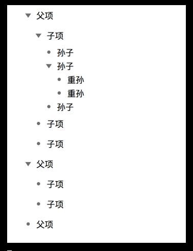 使用章节编号模型为各行编号
