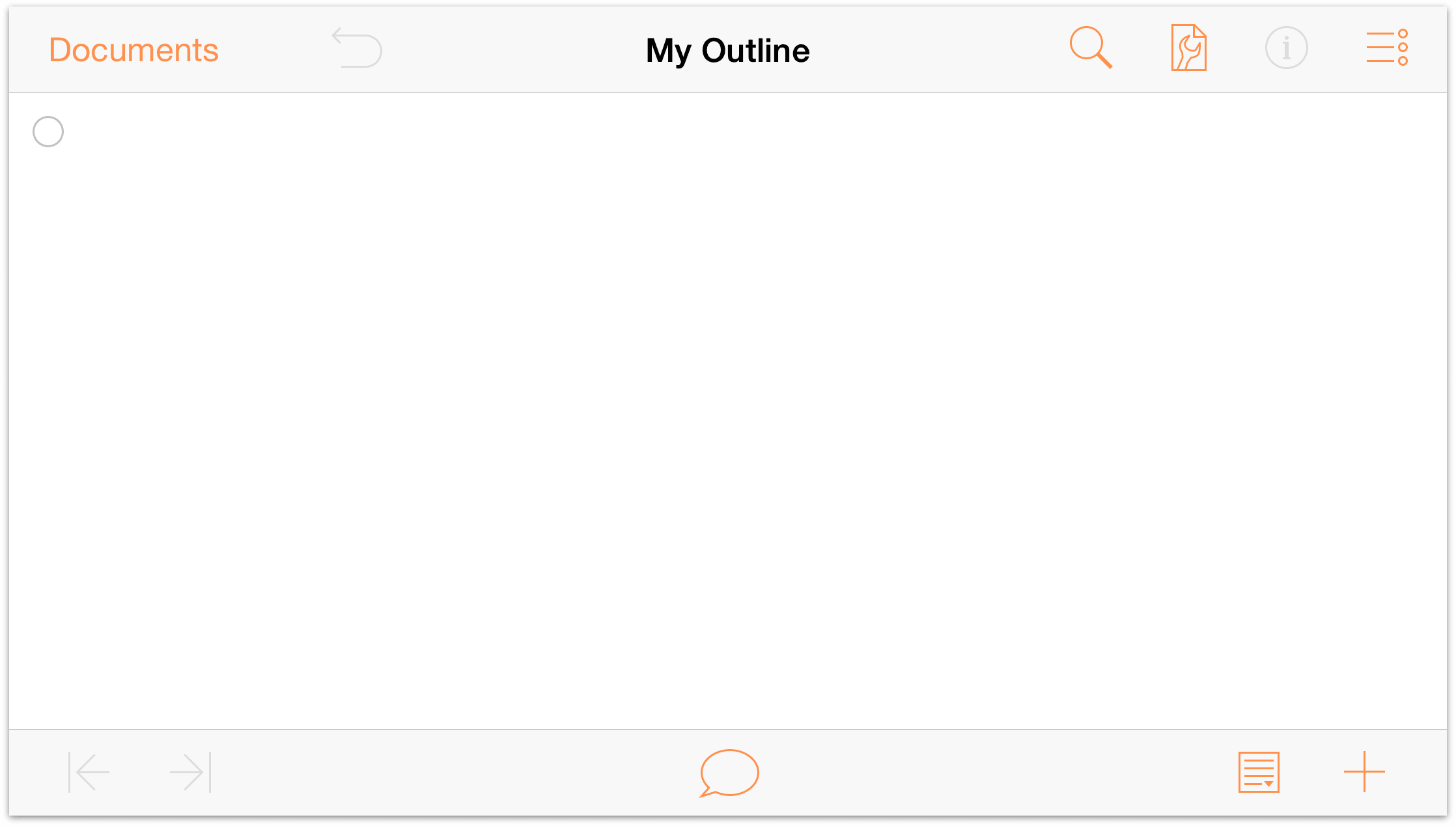 omnioutliner 2 7 for ios user manual working with templates