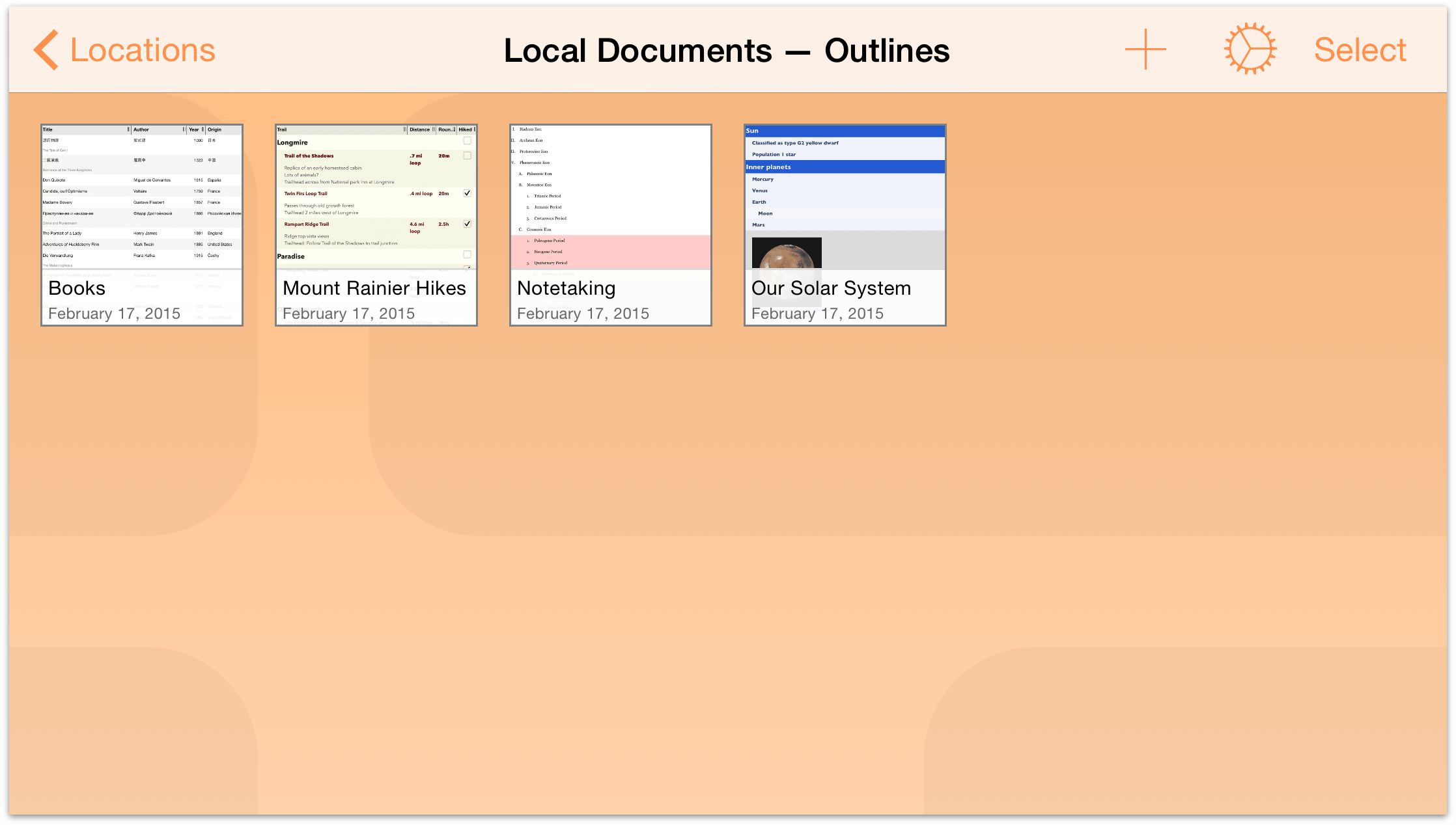 omnioutliner 2 9 6 for ios user manual managing files with the