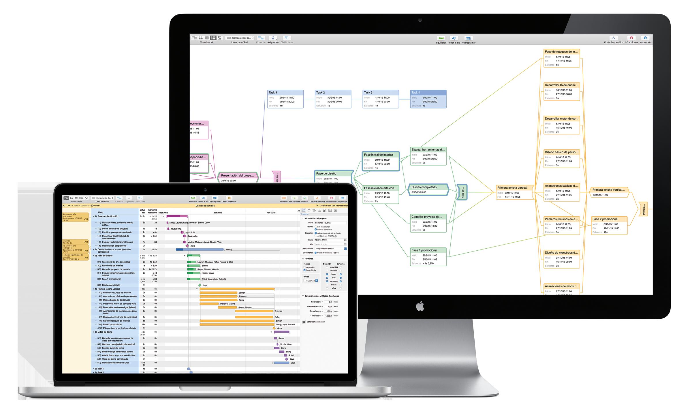 Manual del usuario de OmniPlan 3 para Mac — Introducción