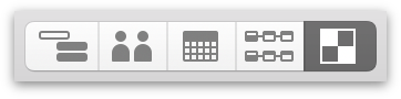 Switching to Styles View with the View Switcher in the toolbar.