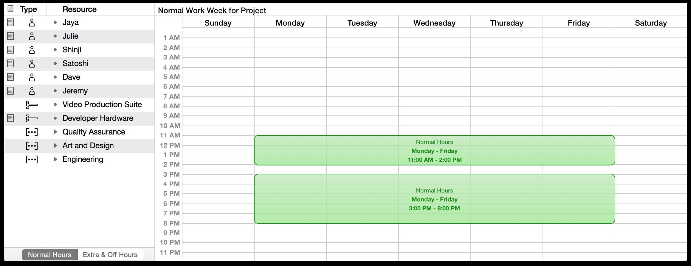 monday friday week calendar
