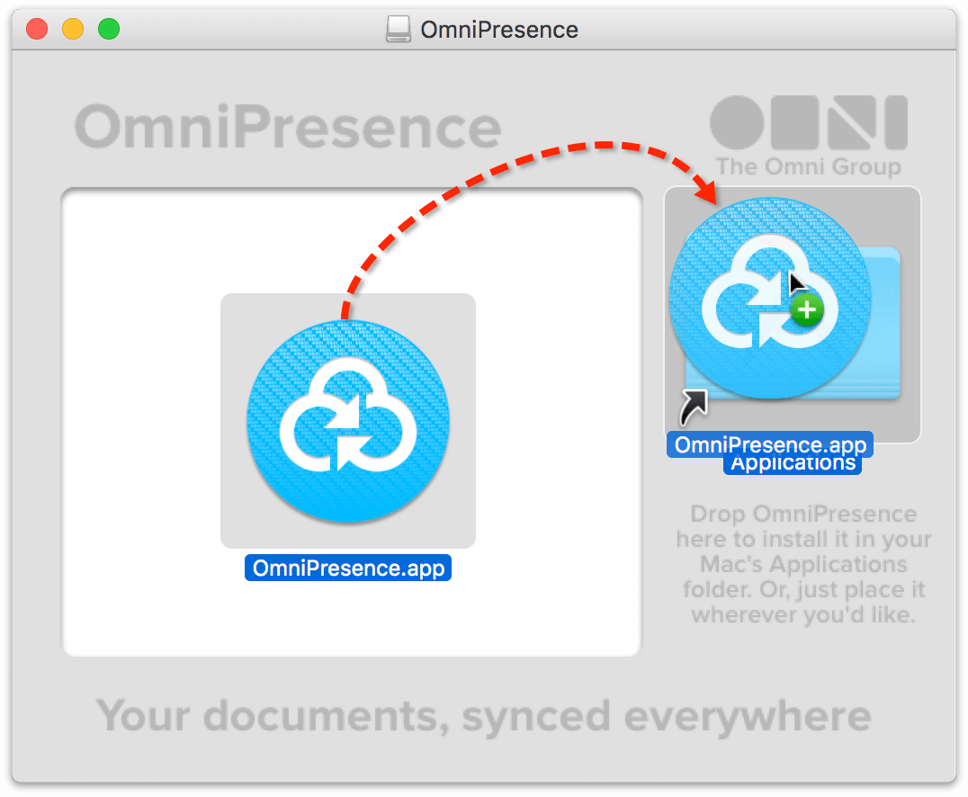 OmniPresence 1 5 for Mac User Manual - Installing and